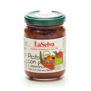 Tomato based pesto, medium spicy