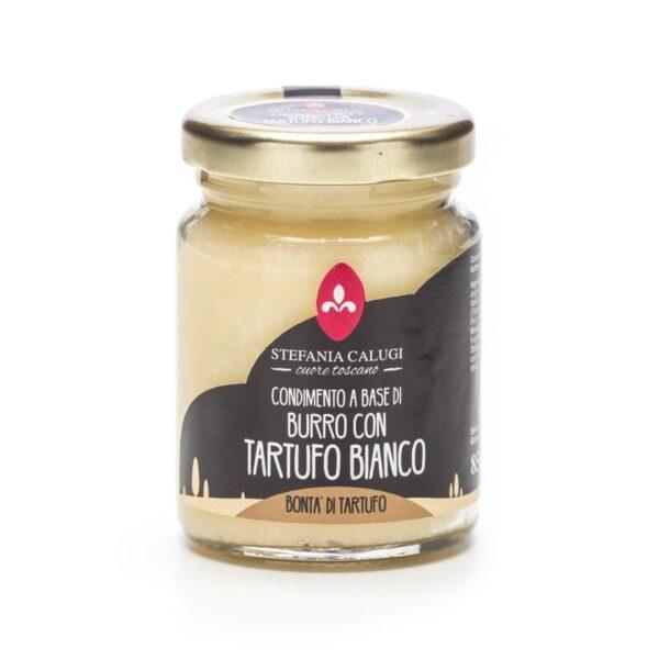 Condimento a base di Burro al tartufo bianco