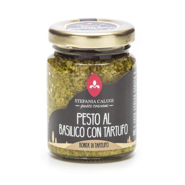 Pesto al basilico con tartufo