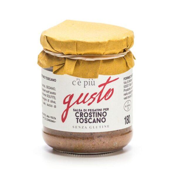 Crostino Toscano salsa di fegatini